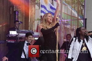 Mariah Carey and Wale - NBC's Toyota Summer Concert Series Presents Mariah Carey at Rockefeller Plaza - NYC, New York,...