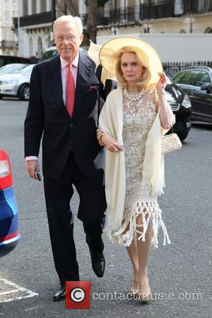 Guest - The wedding of Poppy Delevingne and James Cook at St. Paul's Church, Knightsbridge. - London, United Kingdom -...