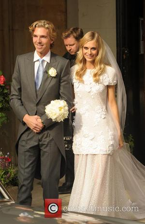 Poppy Delevingne and James Cook - Poppy Delevingne and James Cook wed at St. Paul's Church - London, United Kingdom...
