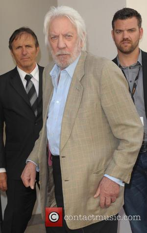 Donald Sutherland - Celebrities arriving at the Majestic Barriere hotel - Cannes, France - Saturday 17th May 2014