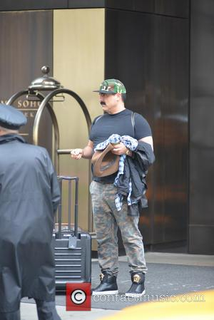 Reza Farahan - New York city candids - Manhattan, New York, United States - Saturday 17th May 2014