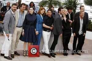 Bertrand Bonello, Aymeline Valade, Lea Seydoux, Amira Casar, Jeremie Renier and Gaspard Ulliel