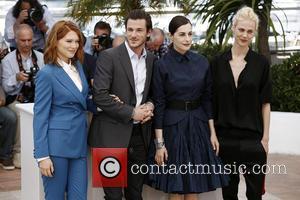 Lea Seydoux, Amira Casar and Gaspard Ulliel