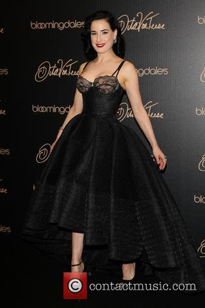 Dita Von Teese - Dita Von Teese launches her new lingerie collection, inspired by the golden age of Hollywood, at...