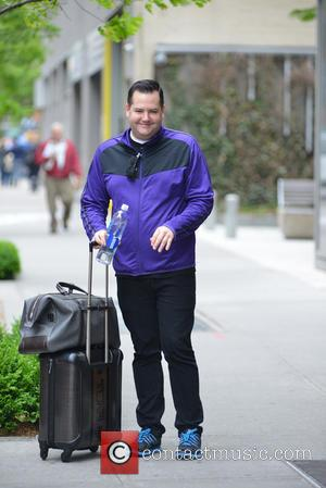 Ross Mathews - Ross Mathews exiting his hotel - Manhattan, New York, United States - Saturday 17th May 2014