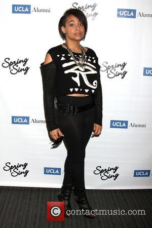 Raven-Symone and Raven Symone - Celebrity judges arrive for University of California, Los Angeles' (UCLA) annual Spring Sing, which showcases...