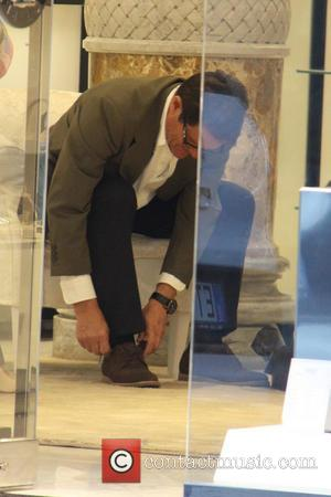 Fabio Capello - Fabio Copello shopping for shoes at Loriblu in Milan. The former England manager will be taking the...