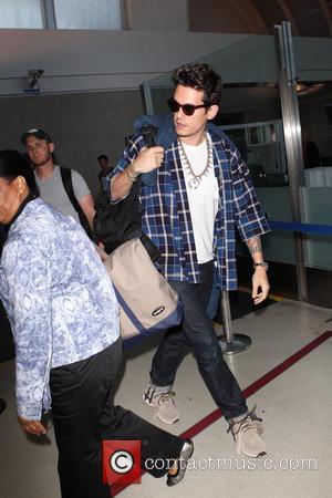John Mayer - John Mayer at Los Angeles International (LAX) Airport - Los Angeles, California, United States - Saturday 17th...