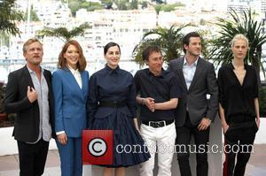 Jeremie Renier, Léa Seydoux, Amira Casar, Bertrand Bonello, Gaspard Ulliel and Aymeline Valade