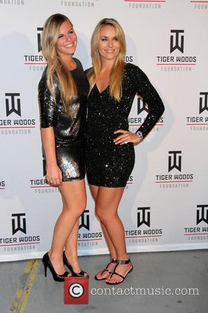 Lindsey Vonn and Karin Kildow