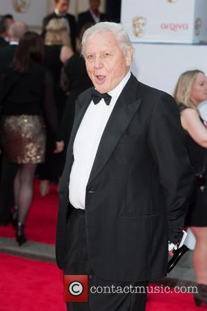 Sir David Attenborough - Arqiva British Academy Television Awards held at the Theatre Royal, Drury Lane - Arrivals. - London,...