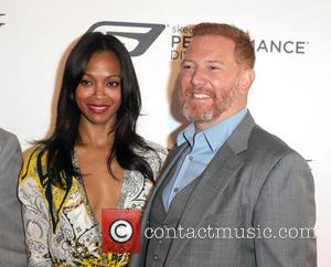 Zoe Saldana and Producer Ryan Kavanaugh