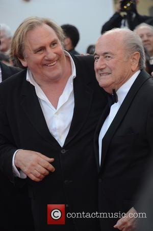 Gerard Depardieu and Sep Blatter