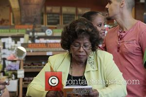Katherine Jackson, Autumn Jackson and Nape Singh - Jermaine Jackson at the Whole Foods store in Tarzana to promote
