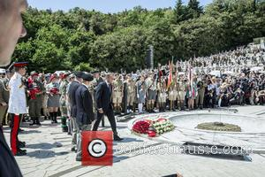 Donald Tusk - Prince Harry visits Monte Cassino in Italy for the anniversary of a key World War II battle...