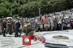 Giuseppe Golini Petrarcone - Prince Harry visits Monte Cassino in Italy for the anniversary of a key World War II...