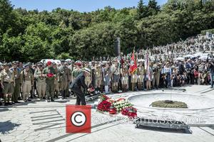 Jeremy Mateparae - Prince Harry visits Monte Cassino in Italy for the anniversary of a key World War II battle...
