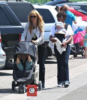 Rachel Zoe, Skyler Berman and Kaius Jagger Berman