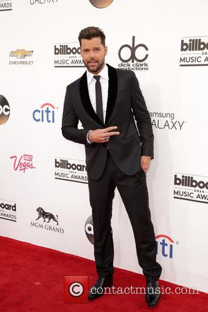 Ricky Martin - 2014 Billboard Awards Red Carpet at the MGM Grand Resort Hotel and Casino - Red Carpet -...