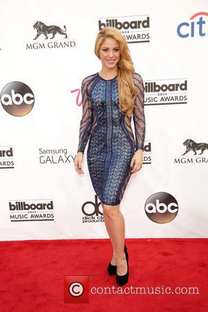 Shakira - 2014 Billboard Awards Red Carpet at the MGM Grand Resort Hotel and Casino - Red Carpet - Las...