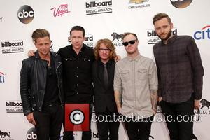 Drew Brown, Ryan Tedder, Eddie Fisher, Brent Kutzle, Zach Filkins and Onerepublic