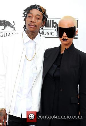 Wiz Khalifa and Amber Rose - 2014 Billboard Awards held at the MGM Grand Resort Hotel and Casino - Arrivals...
