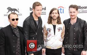 Ben McKee, Dan Reynolds, Wayne Sermon and Daniel Platzman - 2014 Billboard Awards Red Carpet at the MGM Grand Resort...