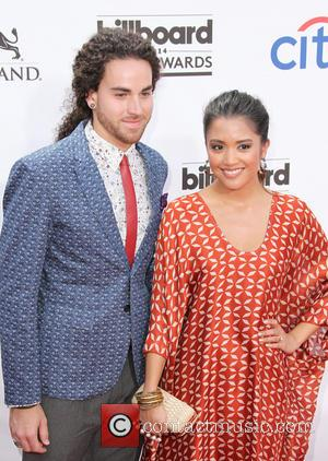 Carissa Alvarado and Michael Alvarado - 2014 Billboard Awards Red Carpet at the MGM Grand Resort Hotel and Casino -...