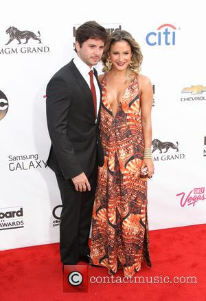 Claudia Leitte and Marcio Pedreira - 2014 Billboard Awards Red Carpet at the MGM Grand Resort Hotel and Casino -...