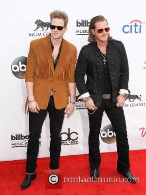 Tyler Hubbard and Brian Kelley - 2014 Billboard Awards Red Carpet at the MGM Grand Resort Hotel and Casino -...
