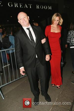 Ross Kemp and Renee O'Brien - The Arqiva British Academy Television Awards - Afterparty held at The Grosvenor House hotel...