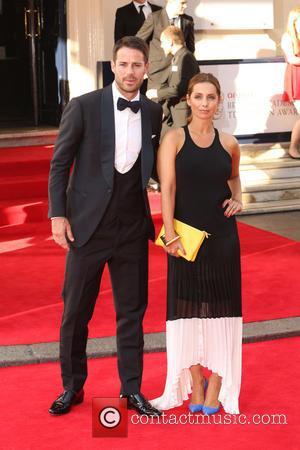 Jamie Redknapp and Louise Redknapp - The Arqiva British Academy Television Awards 2014 (BAFTA) - Arrivals - London, United Kingdom...