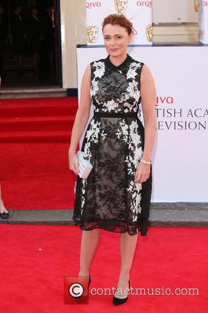 Keeley Hawes - The Arqiva British Academy Television Awards 2014 (BAFTA) - Arrivals - London, United Kingdom - Sunday 18th...