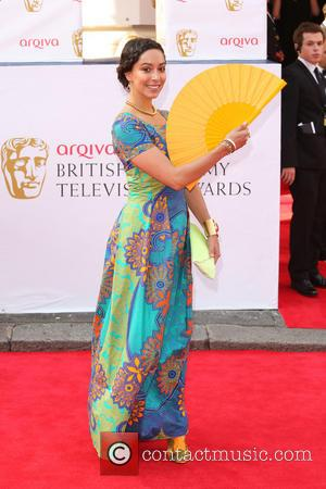 Oona Chaplin - The Arqiva British Academy Television Awards 2014 (BAFTA) - Arrivals - London, United Kingdom - Sunday 18th...