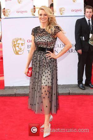 Tess Daly - The Arqiva British Academy Television Awards 2014 (BAFTA) - Arrivals - London, United Kingdom - Sunday 18th...