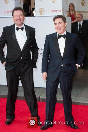 Lee Mack and Rob Brydon - Arqiva British Academy Television Awards held at the Theatre Royal, Drury Lane - Arrivals....