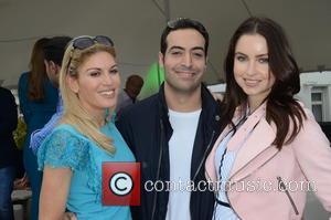 Hofit Golan, Mohammed Al Turki and Emma Miller (made In Chelsea)