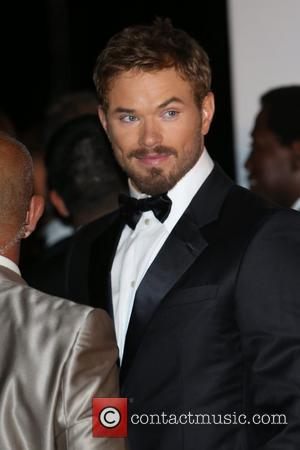 Kellan Lutz - The 67th Annual Cannes Film Festival - 'The Expendables 3' premiere - Arrivals - London, United Kingdom...