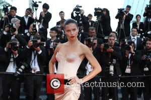 Adriana Lima - The 67th Annual Cannes Film Festival - 'The Homesman' premiere - Arrivals - Cannes, France - Sunday...