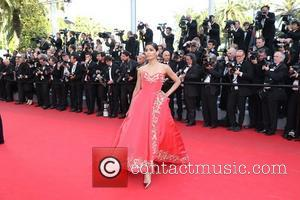 Freida Pinto - The 67th Annual Cannes Film Festival - 'The Homesman' premiere - Arrivals - Cannes, France - Sunday...