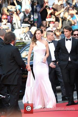 Hilary Swank - The 67th Annual Cannes Film Festival - 'The Homesman' premiere - Arrivals - Cannes, France - Sunday...