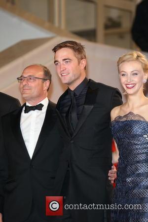 Martin Katz (l-r), Robert Pattinson and Sarah Gadon