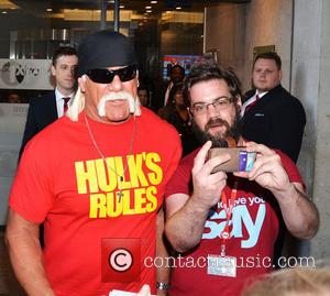 Hulk Hogan - Hulk Hogan at BBC Radio 1 studios - London, United Kingdom - Monday 19th May 2014