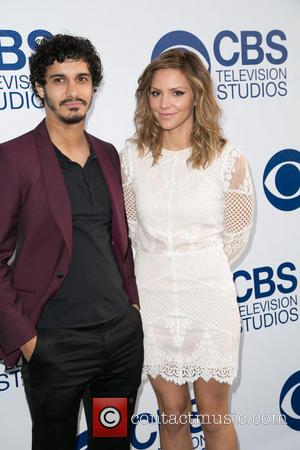 Elyes Gabel and Katherine McPhee - CBS Television Studios 'SUMMER SOIREE' at The London Hotel in West Hollywood - Arrivals...