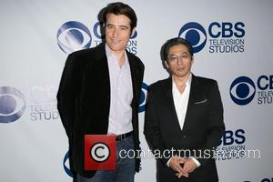 Goran Visnjic and Guest - CBS Television Studios 'SUMMER SOIREE' at The London Hotel in West Hollywood - Arrivals -...