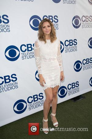 Katherine McPhee - CBS Television Studios 'SUMMER SOIREE' at The London Hotel in West Hollywood - Arrivals - Los Angeles,...