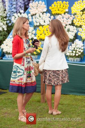 Kim Sears - Chelsea Flower Show VIP and Press Preview. - London, United Kingdom - Monday 19th May 2014
