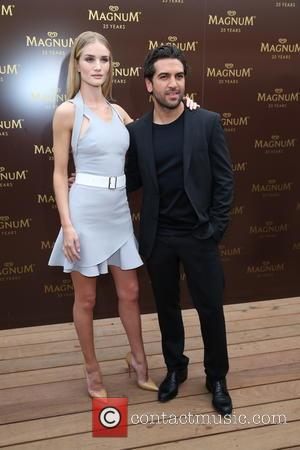 Rosie Huntington-Whiteley and Elyas M'Barek - The 67th Annual Cannes Film Festival - Magnum - Photocall - Cannes, France -...