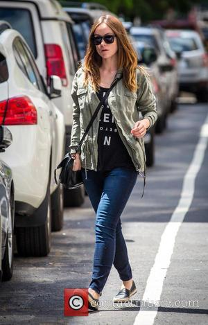 Olivia Wilde - New mom Olivia Wilde out and about in Manhattan by herself. Her son Otis, with partner Jason...