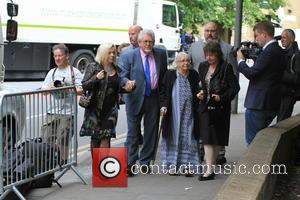 Rolf Harris Performs For Court Jury